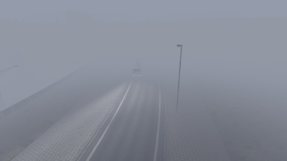Туман для Euro  Eruck  Simulator 2 703Oh