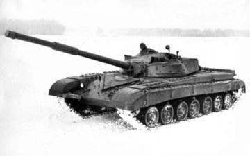 «Объект 219РД» (черт. 219РД-СБ3) - основной боевой танк (опытный) 5nmr9