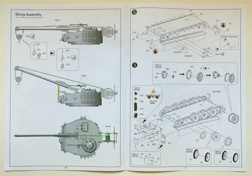 CquWz 1:35 Bergepanzer Tiger I von Rye Field Model RM-5008.