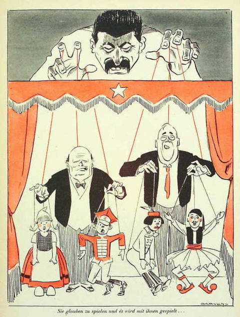 Иосиф Сталин. СССР. 2 мировая война
