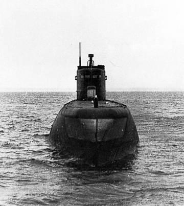 Проект 1840 - большая подводная лодка - база-лаборатория HqWBJ