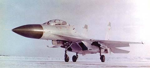 Су-27УБ (Т10У) - учебно-боевой самолёт MNYC3