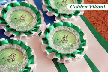 Наградные розетки на заказ от Golden Vikont EqE7F