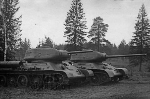 Т-43 - средний танк (1942 г.), опытный Hn9qO