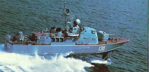 Проект 133 «Антарес» - пограничный сторожевой корабль (ПСКР) I6X0s