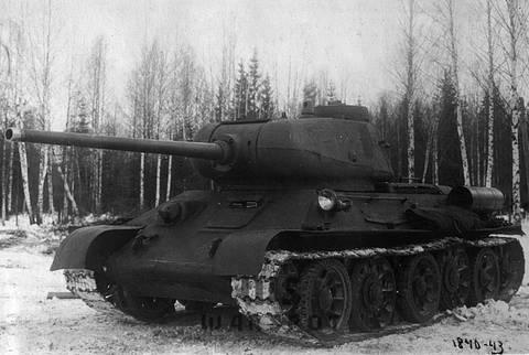 Т-43 - средний танк (1942 г.), опытный ImQKp