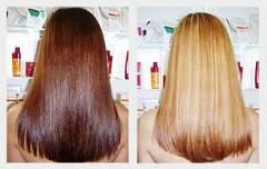 Как смыть неудачную краску с волос