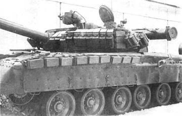 Т-80У («Объект 219АС») - основной боевой танк YFzTb