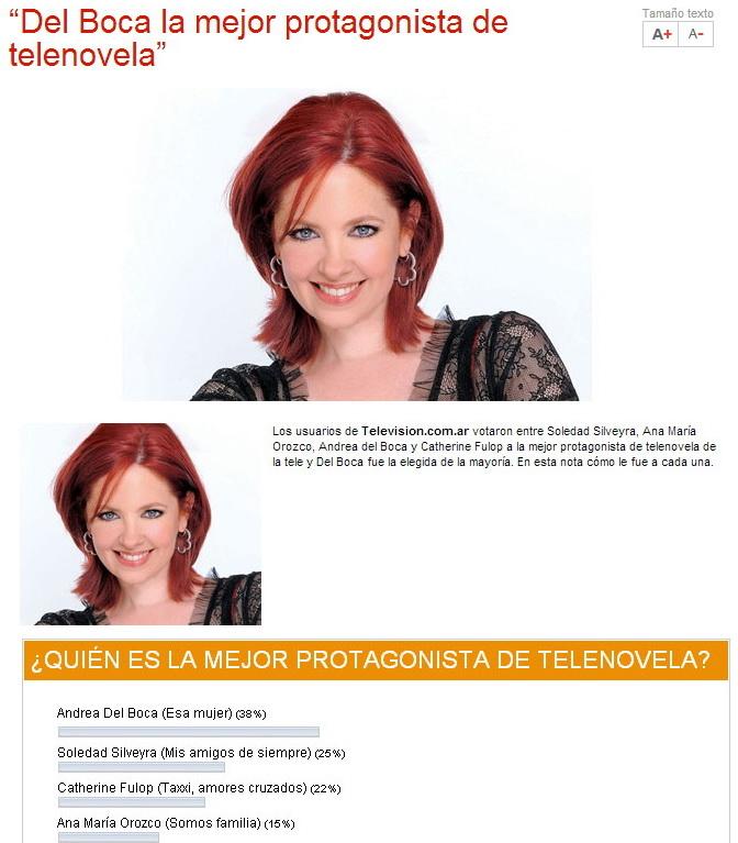 la Mejor heroina de la telenovela UIVtD
