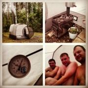 Мобильная баня Мобиба МБ-12
